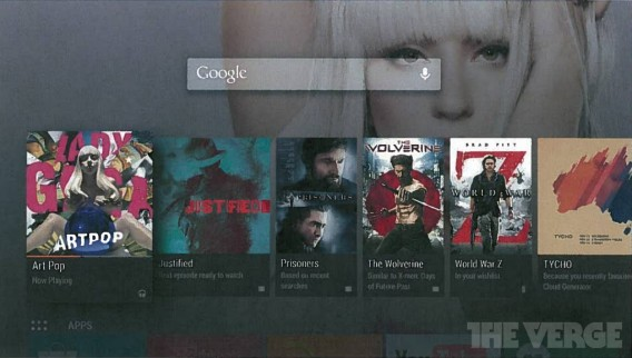 Android TV via The Verge