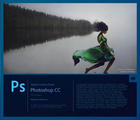 Adobe Creative Cloud Photoshop CC 2014