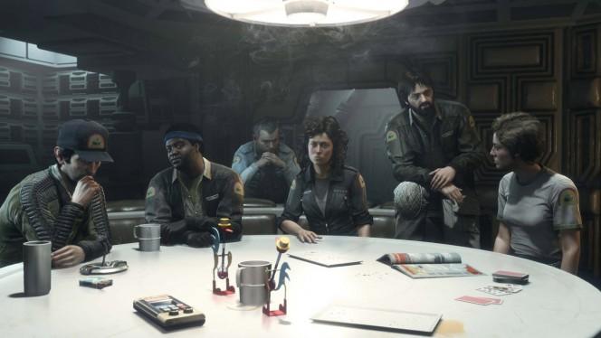 Alien Isolation original cast header
