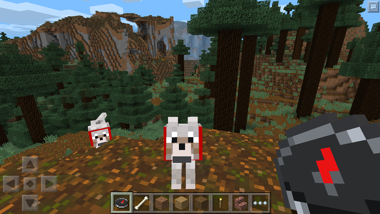 Minecraft: Pocket Edition updates with infinite worlds and wolves