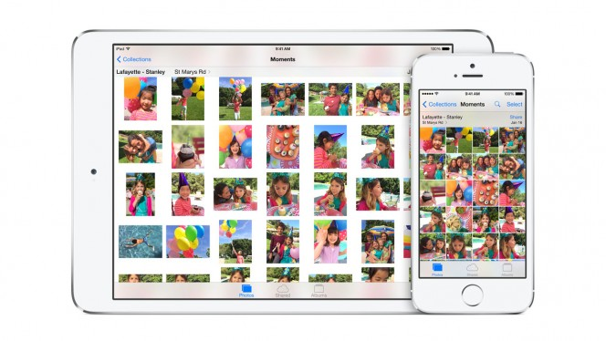 Photos for iOS header