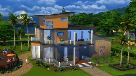 SIMS 4 modern house
