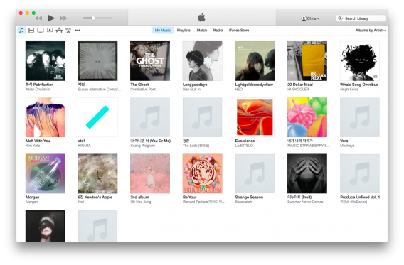 how to put preview music from itunes