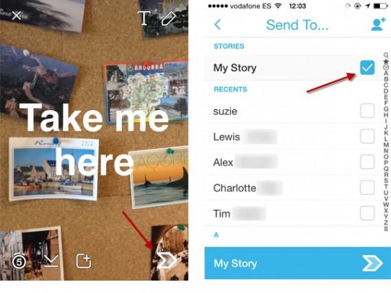 Snapchat Stories 2