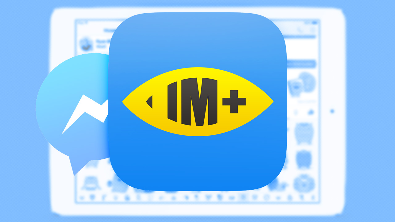Use IM+ as an alternative to Facebook's Messenger app