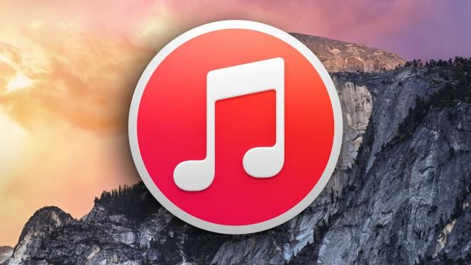 iTunes 12 header