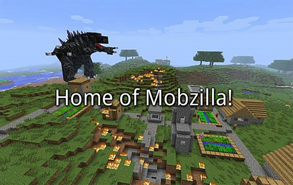 Minecraft OreSpawn - Mobzilla