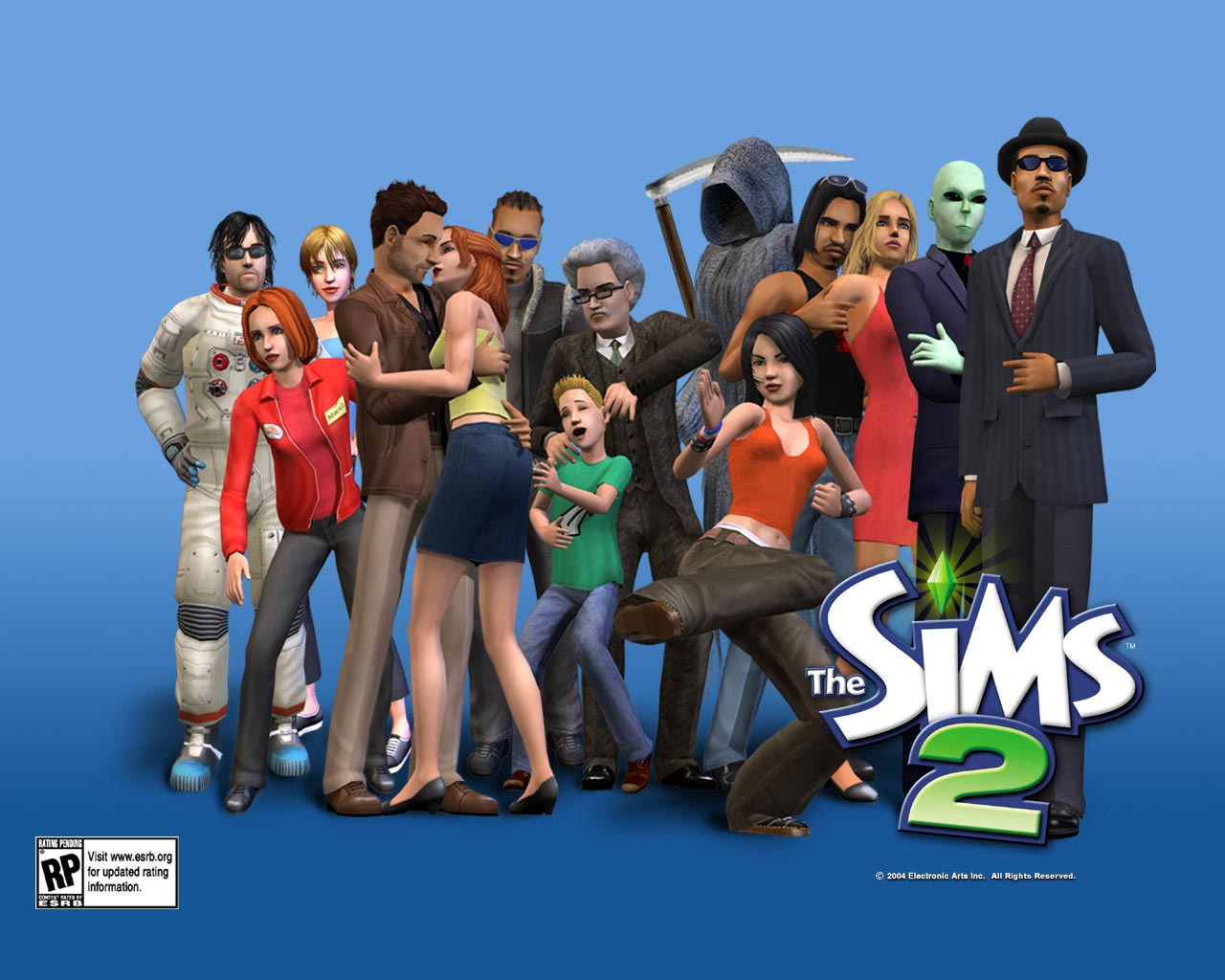 The sims 2 download.