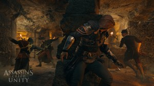 Assassin's Creed Unity 11 minute gameplay includes interior of Notre Dame