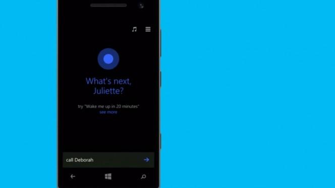 Cortana header