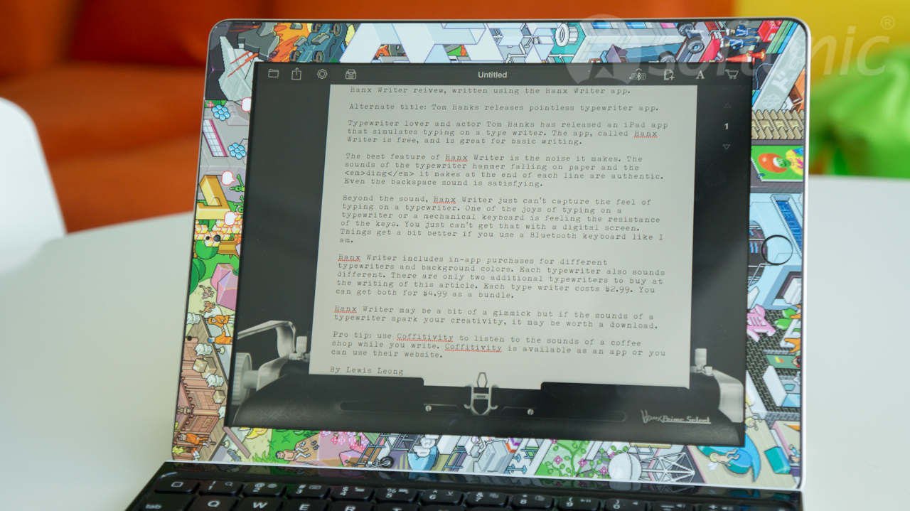 Tom Hanks releases typewriter iPad app for hipsters with