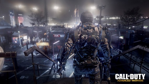 Call of Duty Advanced Warfare exoskeleton