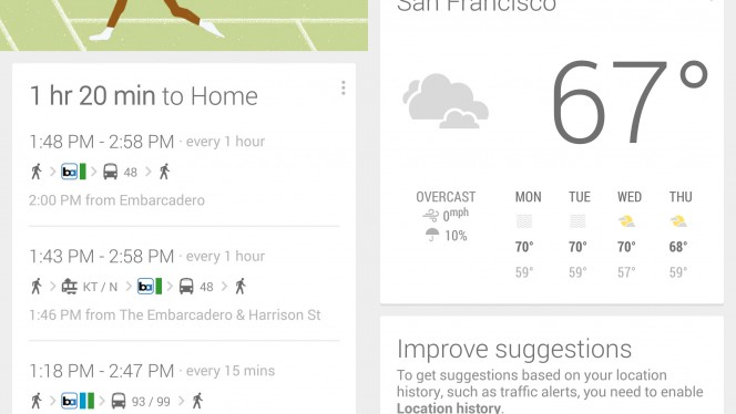 Google Now combined