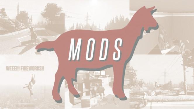 The 6 craziest mods for Goat Simulator