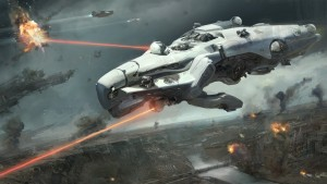 Yaeger's Dreadnought is all-out spaceship combat