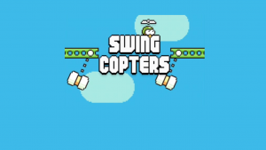Swing Copters available on App Store and Google Play