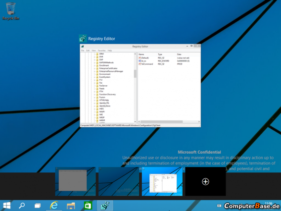 Windows Threshold virtual desktops