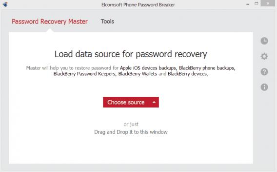 Elcomsoft Password Breaker intro