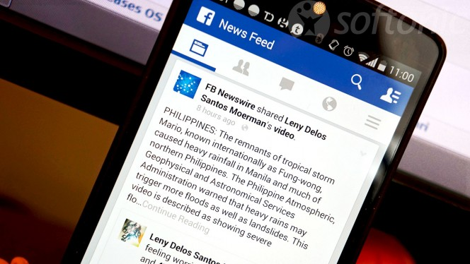 Facebook News Feed Android