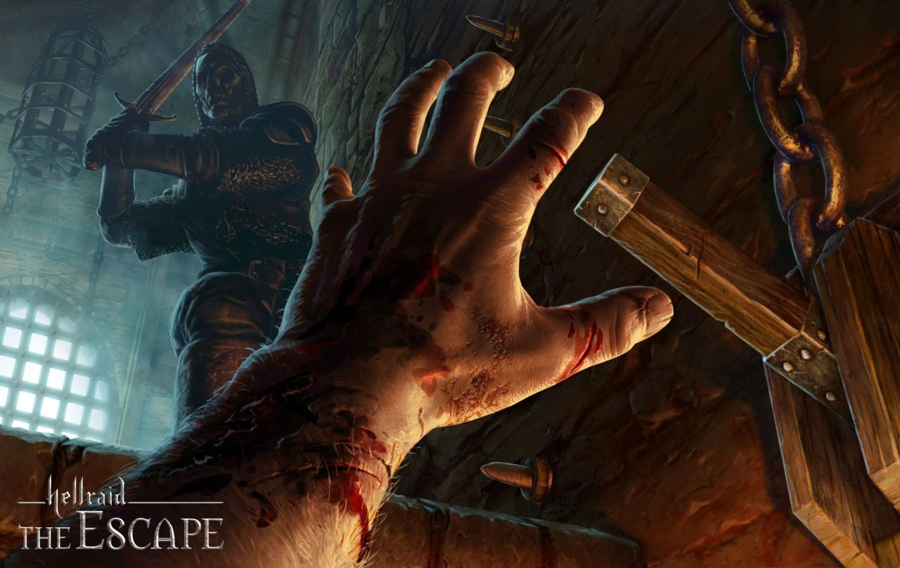 Dark first person puzzler Hellraid: The Escape coming to Android October 2nd