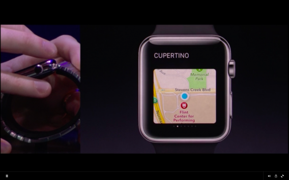 Apple Watch turn by turn directions
