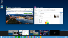 Windows 10 makes organizing windows easy with multiple desktops