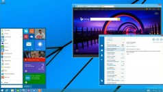 See the Windows 9 Start Menu in action