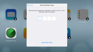 iCloud increases security with two-factor authentication