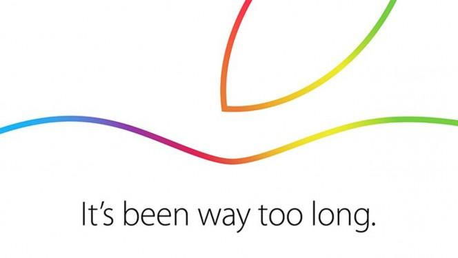 Apple Oct 6 invite