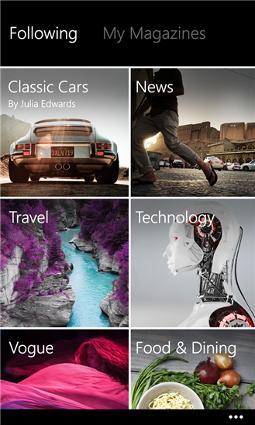 Flipboard for Windows Phone