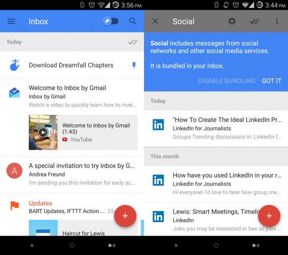 Google Inbox combined 2
