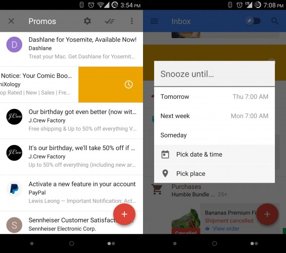 Google Inbox combined