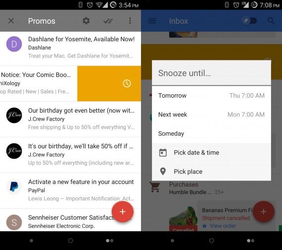 Google Inbox é uma combinação do Gmail e Google Now