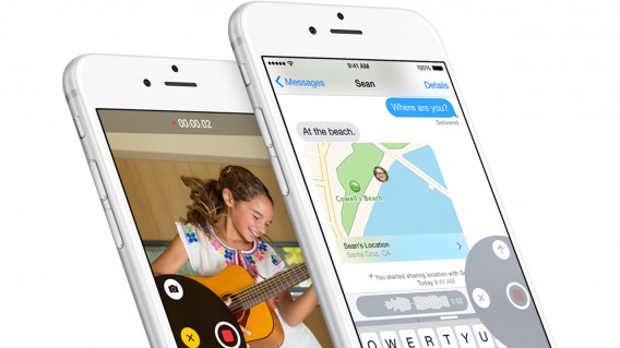 Messages for iOS 8