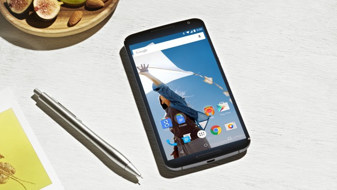 Nexus 6 Android Lollipop header