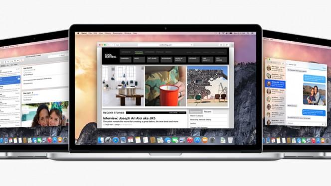 OS X Yosemite header