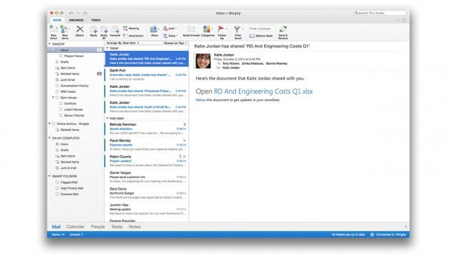 Office for Mac header