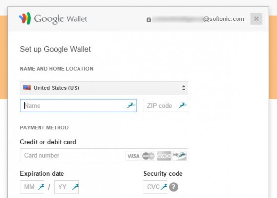Play Music Google Wallet