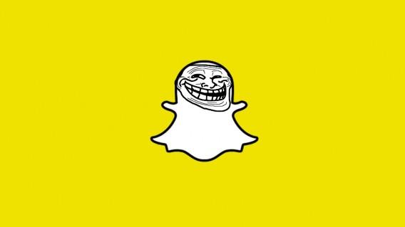 Snapchat Troll