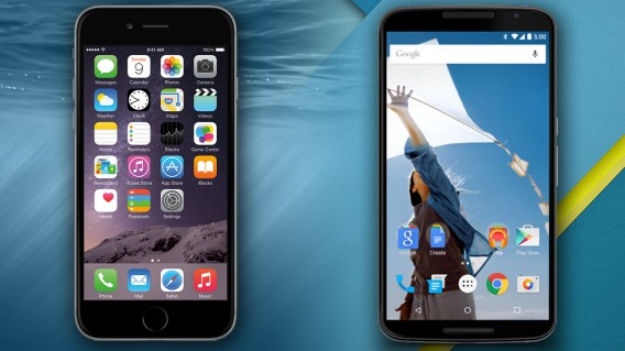Move from iOS to Android Nexus 6 iPhone 6
