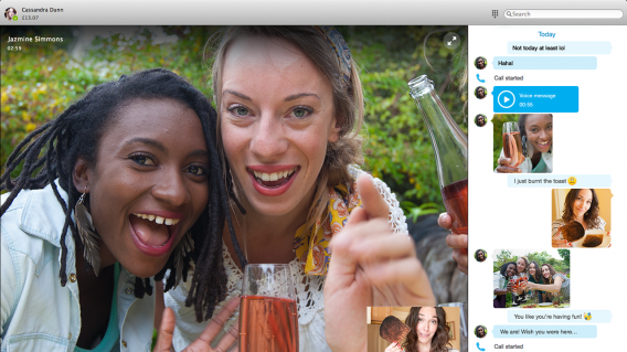 Skype for Mac version 7