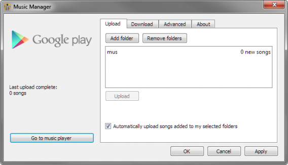 music manager chrome