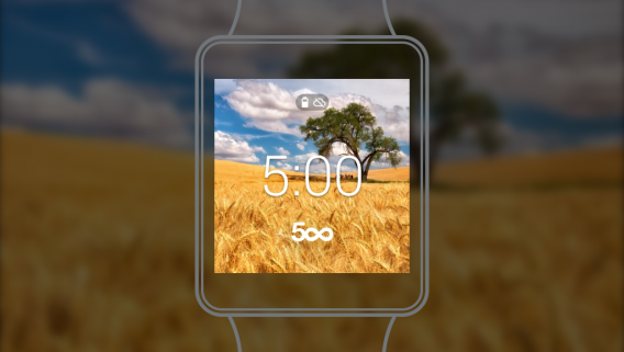 500px android wear