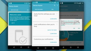 Google Device Assist app teaches you and helps you fix your Android phone
