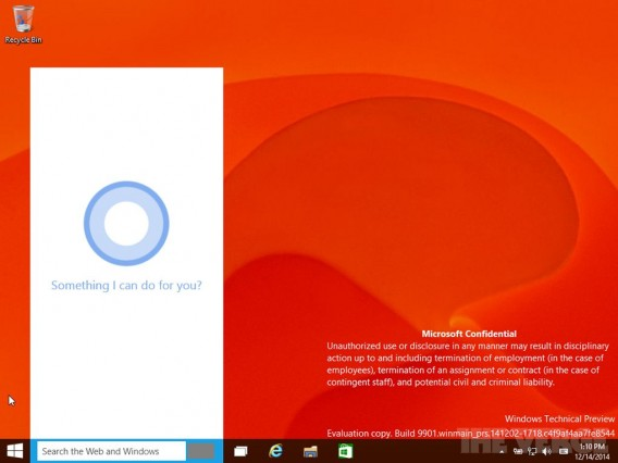 Cortana Windows 10 via The Verge