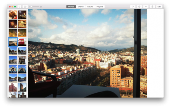 how to delete part of a photos library on mac