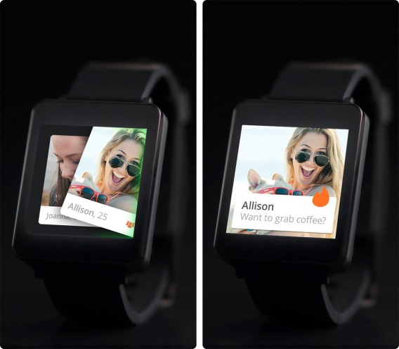 tinder android wear