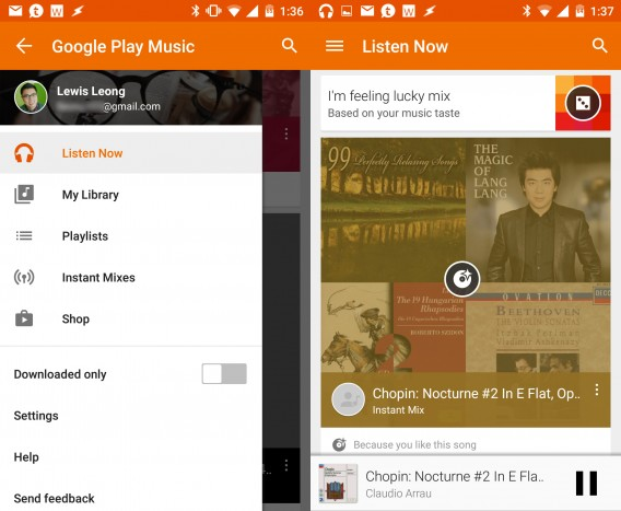 Google Music combined 2