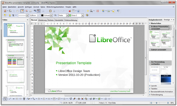 LibreOffice Impress