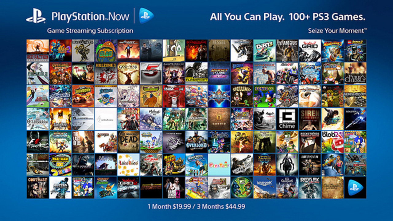 Play over 100 PS3 games for $20 a month with PlayStation Now